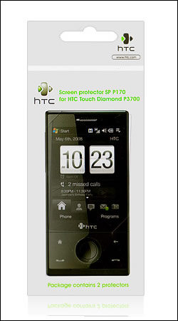 htc защитная пленка для htc touch diamond p3700 (sp p170 original)
